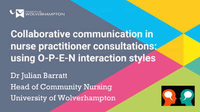 Collaborative communication in nurse practitioner